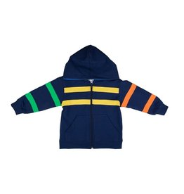 Florence Eiseman Hoodie w/Color Bands