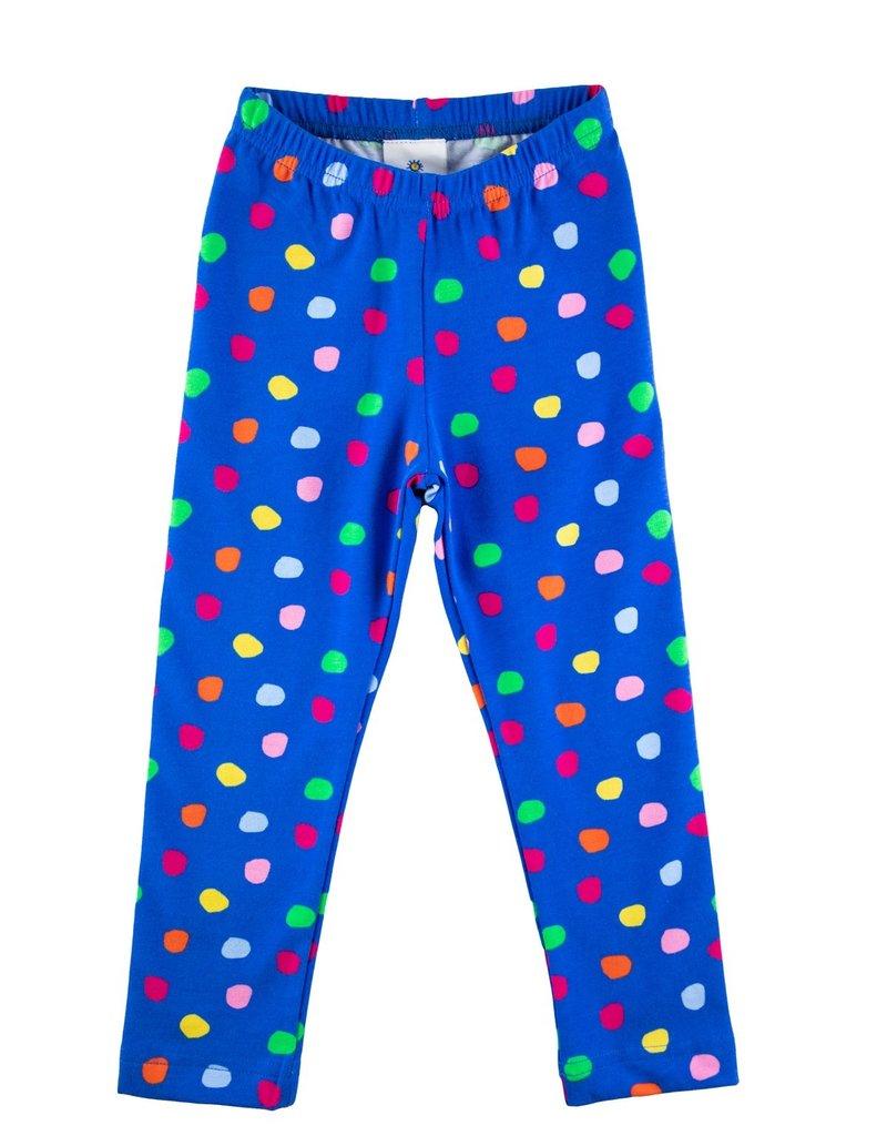Florence Eiseman Knit Leggings Scattered Dot