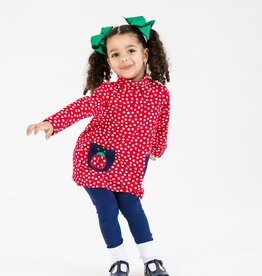 Florence Eiseman Ladybug Red Polka Dot Tunic w/Leggings