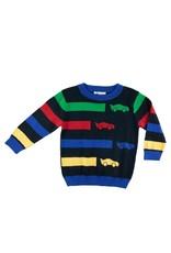 Florence Eiseman Race Car Sweater