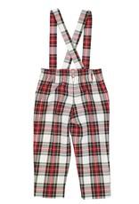 Florence Eiseman Plaid Pant w/Removable Suspenders