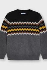 Mayoral Gold Jacquard Sweater