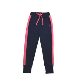Set Athleisure Jemma Joggers Navy Knit/Pink Sides