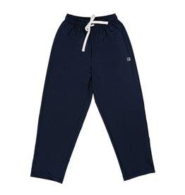 Set Athleisure Mason Jogger Pant Navy Knit/White TIe