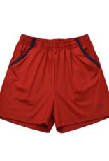 Set Athleisure Nathan Shorts Red/Navy Welting
