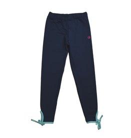 Set Athleisure Avery Legging Navy/Turq Ankle Tie