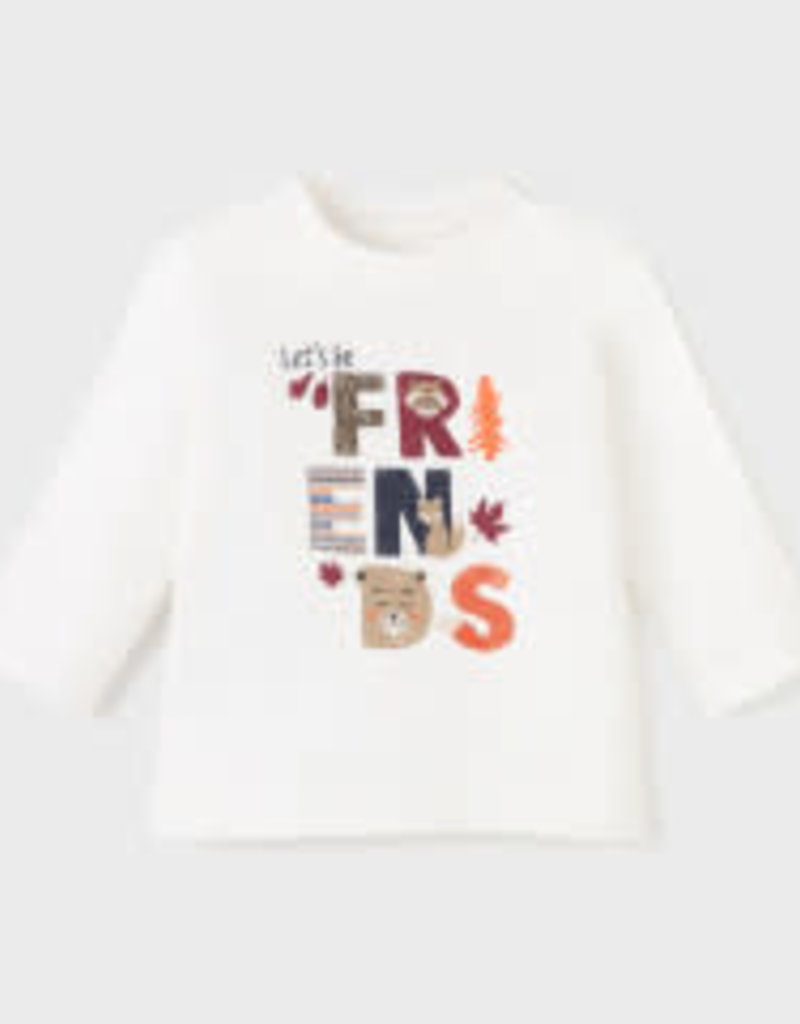 Mayoral L/S Forest Friends T Shirt