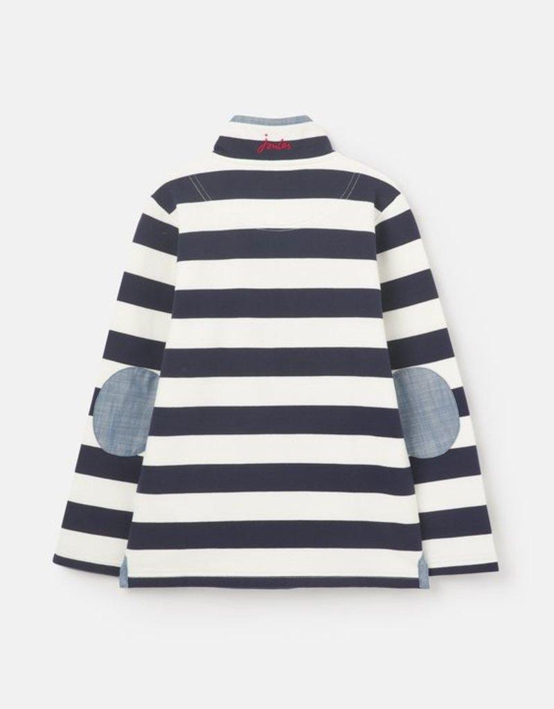 Joules Captian Stripe 1/2 Zip Sweatshirt