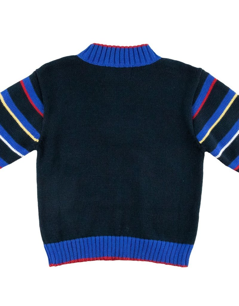 Florence Eiseman Rocket Half Zip Sweater
