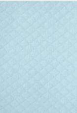 Little Me Blue Quilt 3pc Cardigan Set