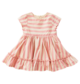 Pink Chicken Niley Dress Mauveglow Angora Stripe