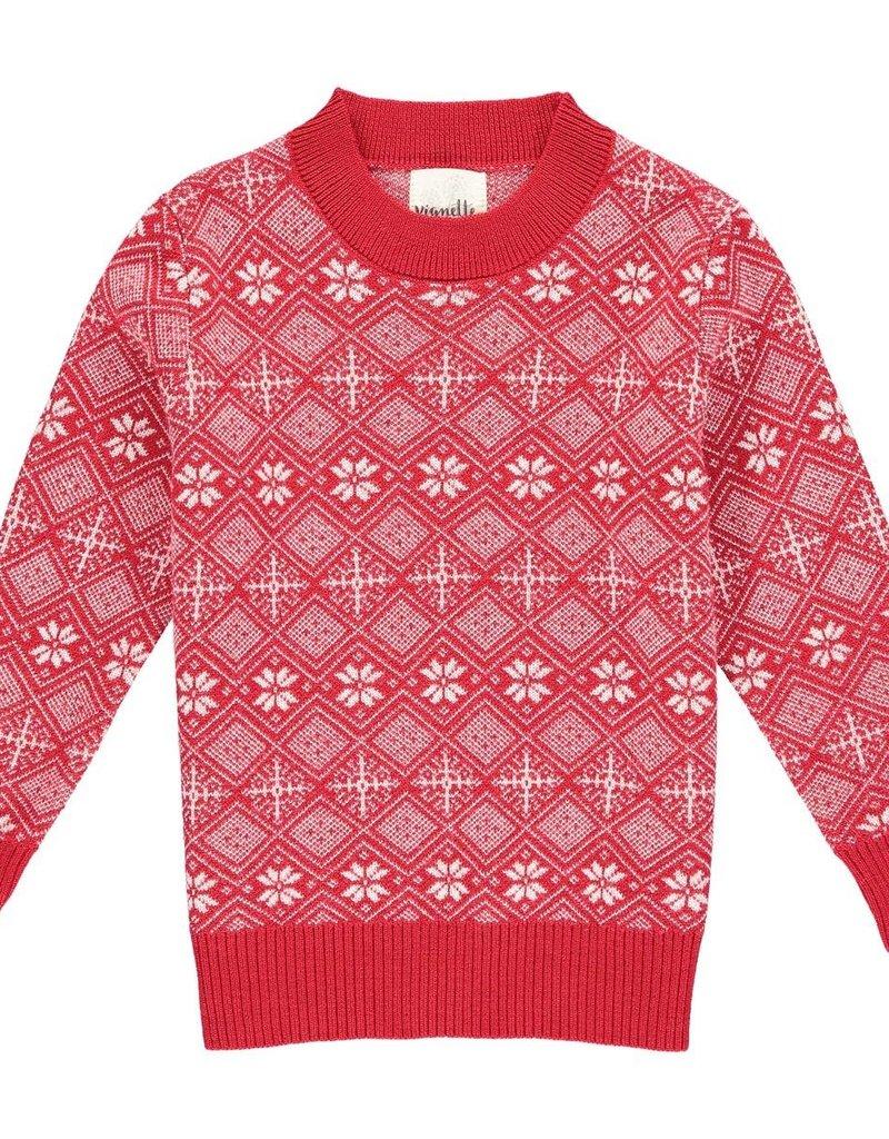 Vignette Oslo Sweater Red