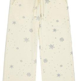 Vignette Jillian Lounge Pants Cream Snowflake