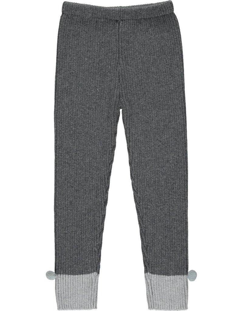 Vignette Rowan Heavy Knit Leggings Charcoal