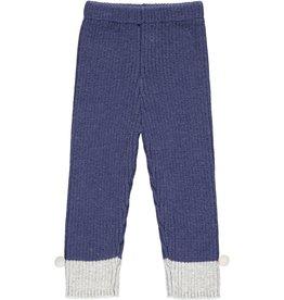 Vignette Rowan Heavy Knit Leggings Navy