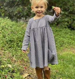 Vignette Rylie Dress Charcoal