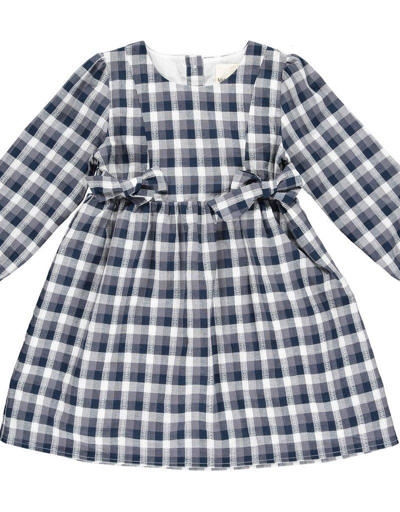 Vignette Autumn Dress Navy