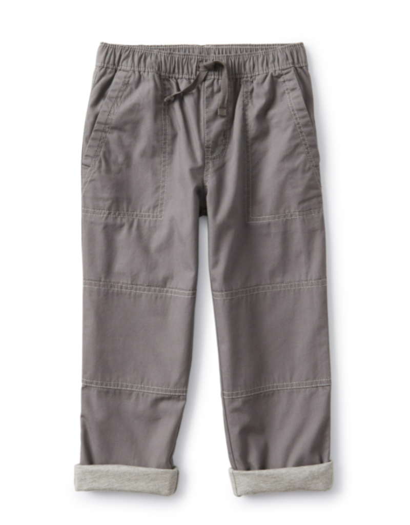 Tea Collection Cozy Jersey Lined Pant Thunder