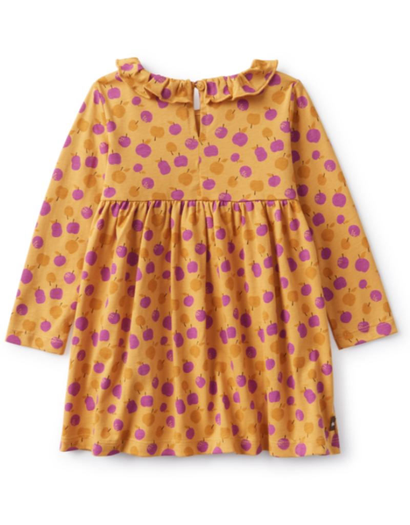 Tea Collection Collared Dress Mini Apple
