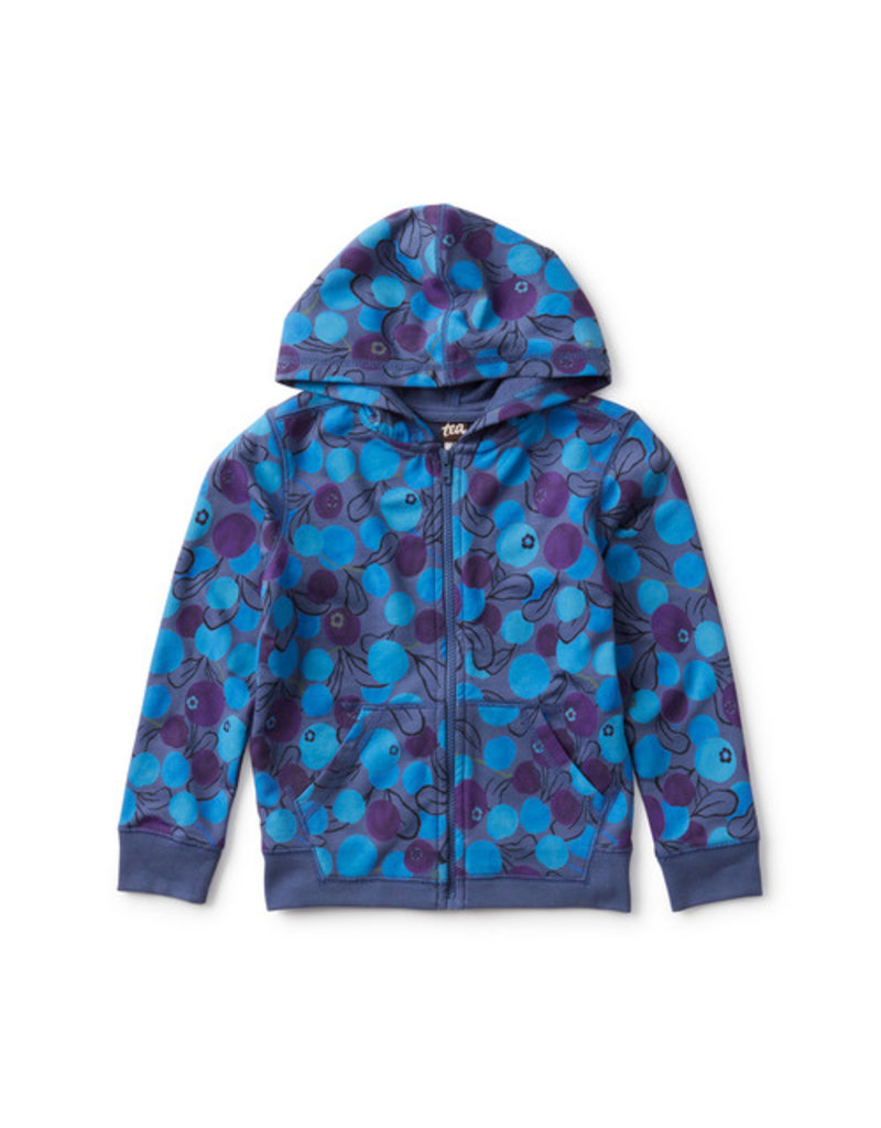 Tea Collection French Terry Zip Hoodie Swedish