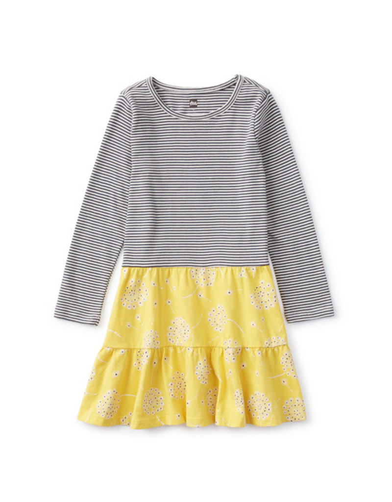 Tea Collection Tiered Skirted Dress Tossed Dandelions