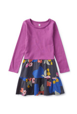 Tea Collection Tiered Skirted Dress In Bloom
