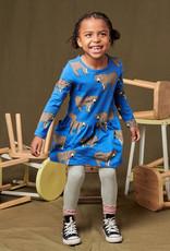 Tea Collection L/S Pocket Dress Bear Lair