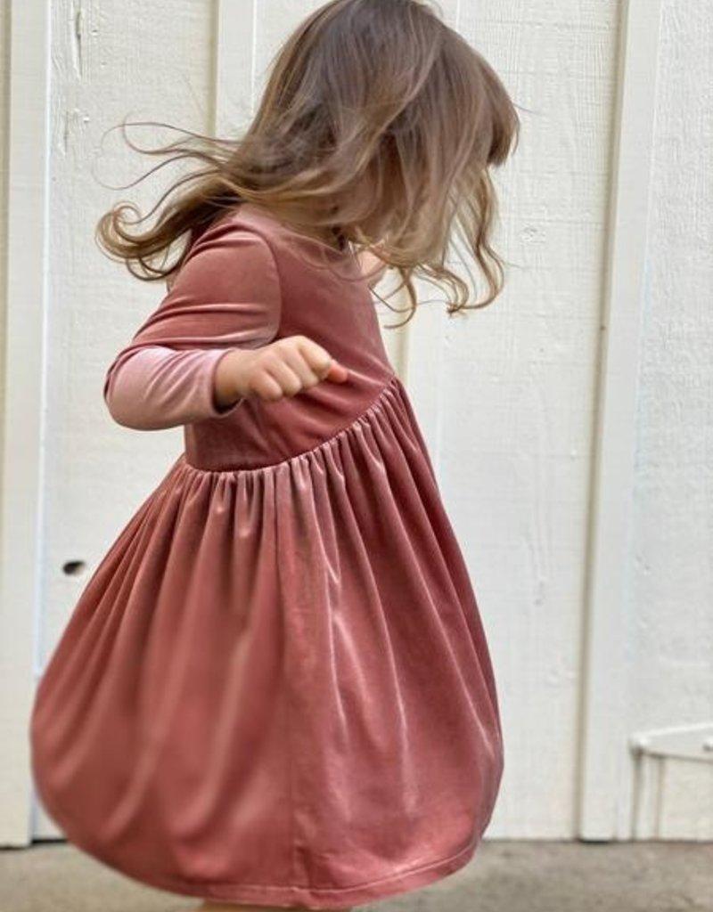 Vignette Charlotte Dress Rust