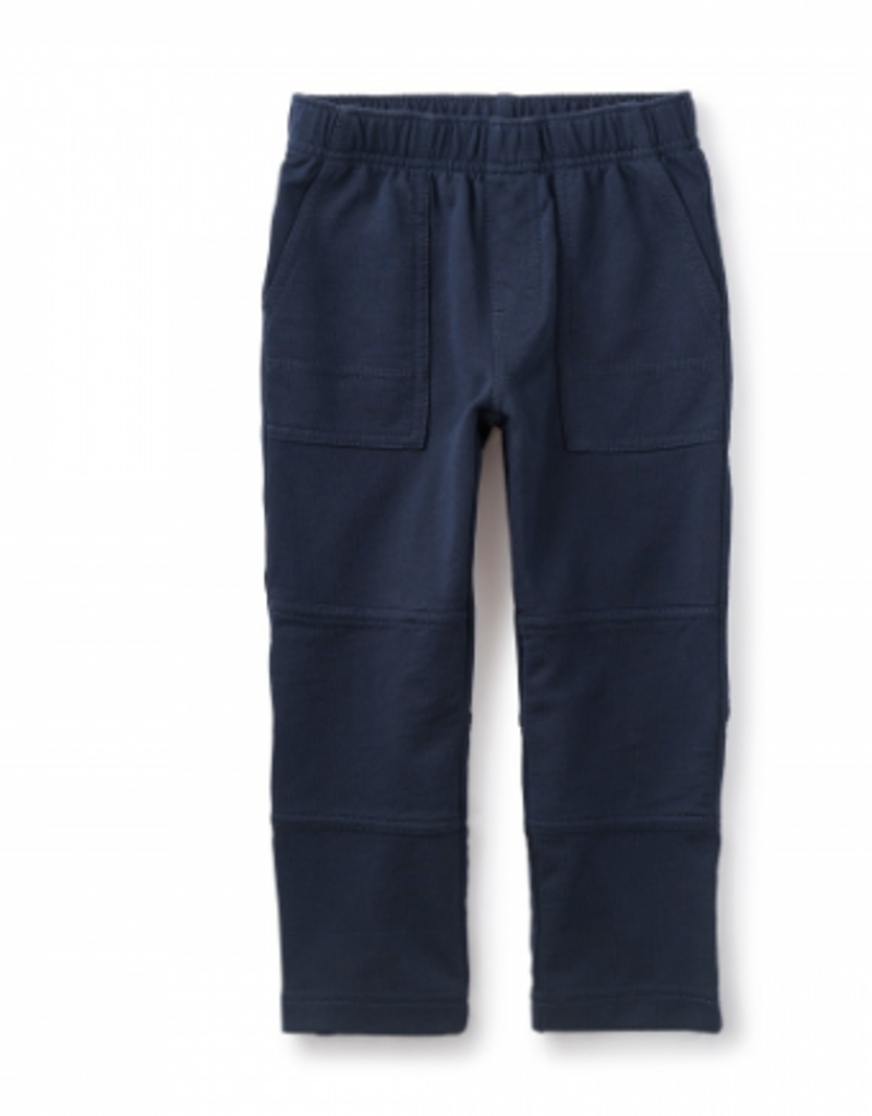 Tea Collection French Terry Playwear Pants Heritage Blue