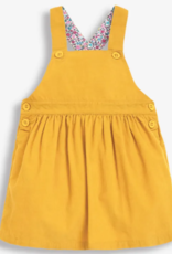 JoJo Maman BeBe Cord Pinafore Mustard