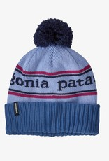 Patagonia Powder Town Beanie PKBA Park Stripe Knit: Beluga