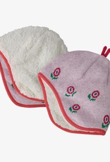 Patagonia Baby Reversible Beanie HFPI Happy Flower: Seafan Pink