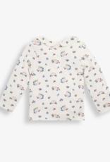 JoJo Maman BeBe Hedgehog Peter Pant Top Cream