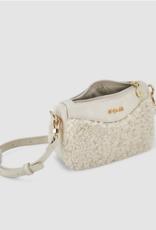 Abel & Lula Sand Faux Fur Hand Bag