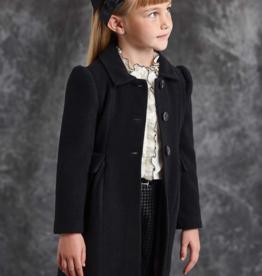 Abel & Lula Wool Black Coat