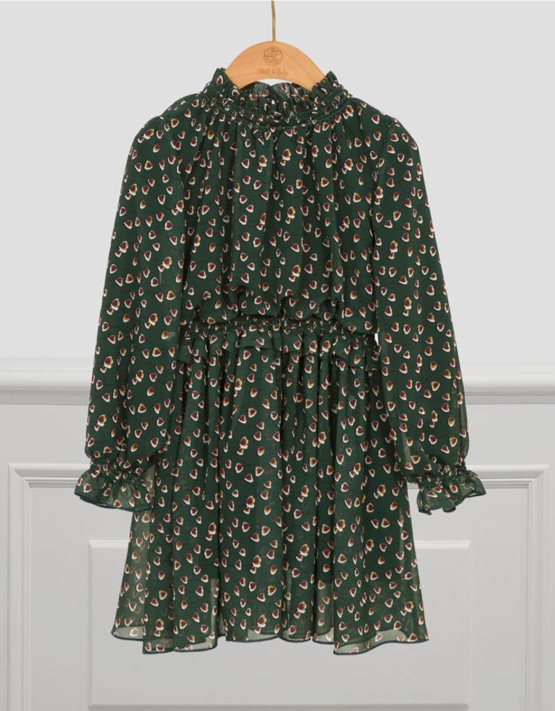 Abel & Lula Gauze Printed Dress