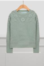 Abel & Lula Jade Floral Sweater