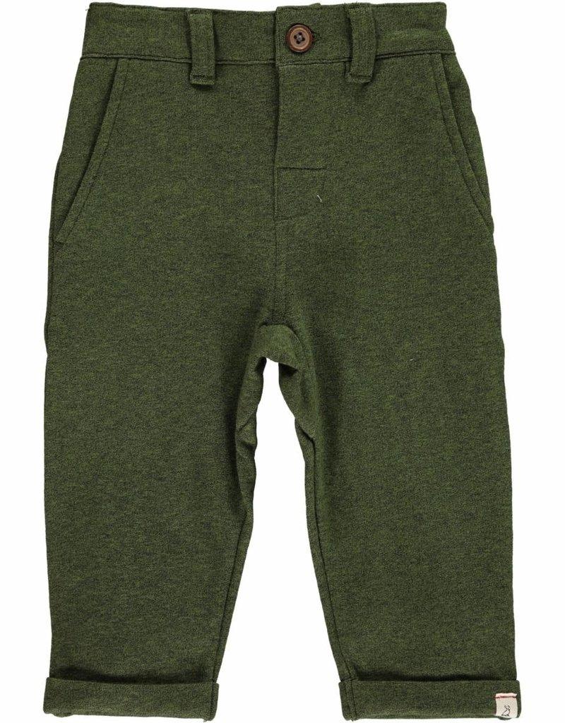 Me & Henry Jonathan Jersey Pants Green
