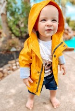 Me & Henry Splash Raincoat Gold