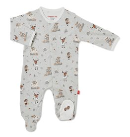 Magnetic Me Perfect Sunday organic Cotton Footie