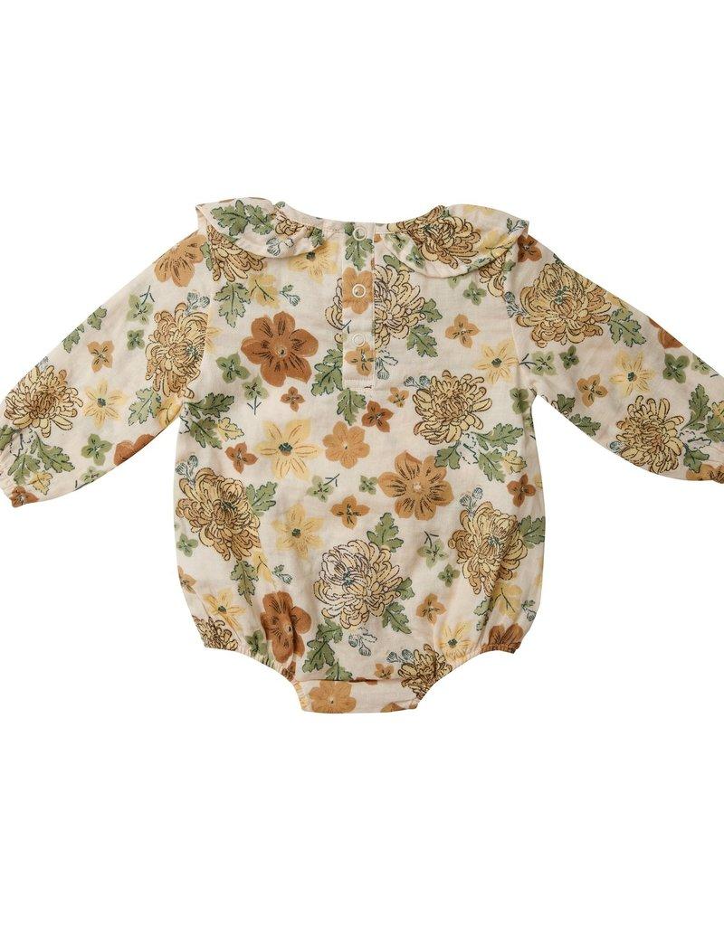 Angel Dear Chrysanthemum Ruffle Collar Bubble