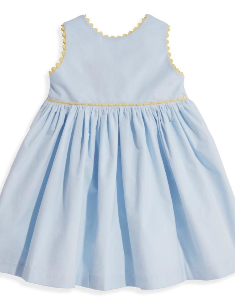 bella bliss Button Back Dress Cloud Cord