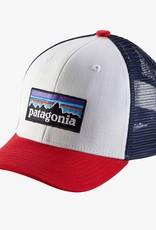 Patagonia P-6 Logo White Hat PLWT