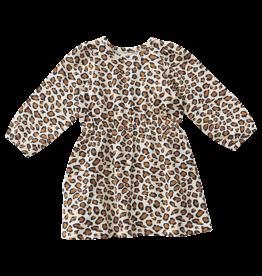 Pink Chicken Organic Hadley Dress Leopard