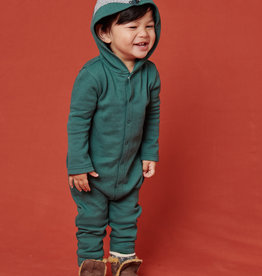Tea Collection Howl Cute Hooded Baby Top