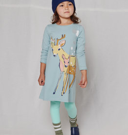 Tea Collection Darling Deer Storytime Dress
