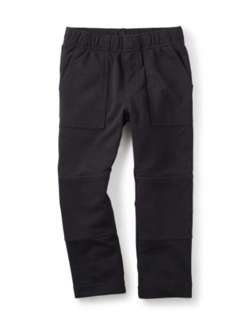 Tea Collection French Terry Playwear Pants Jet Black