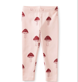 Tea Collection Printed Baby Leggings Toad Stool