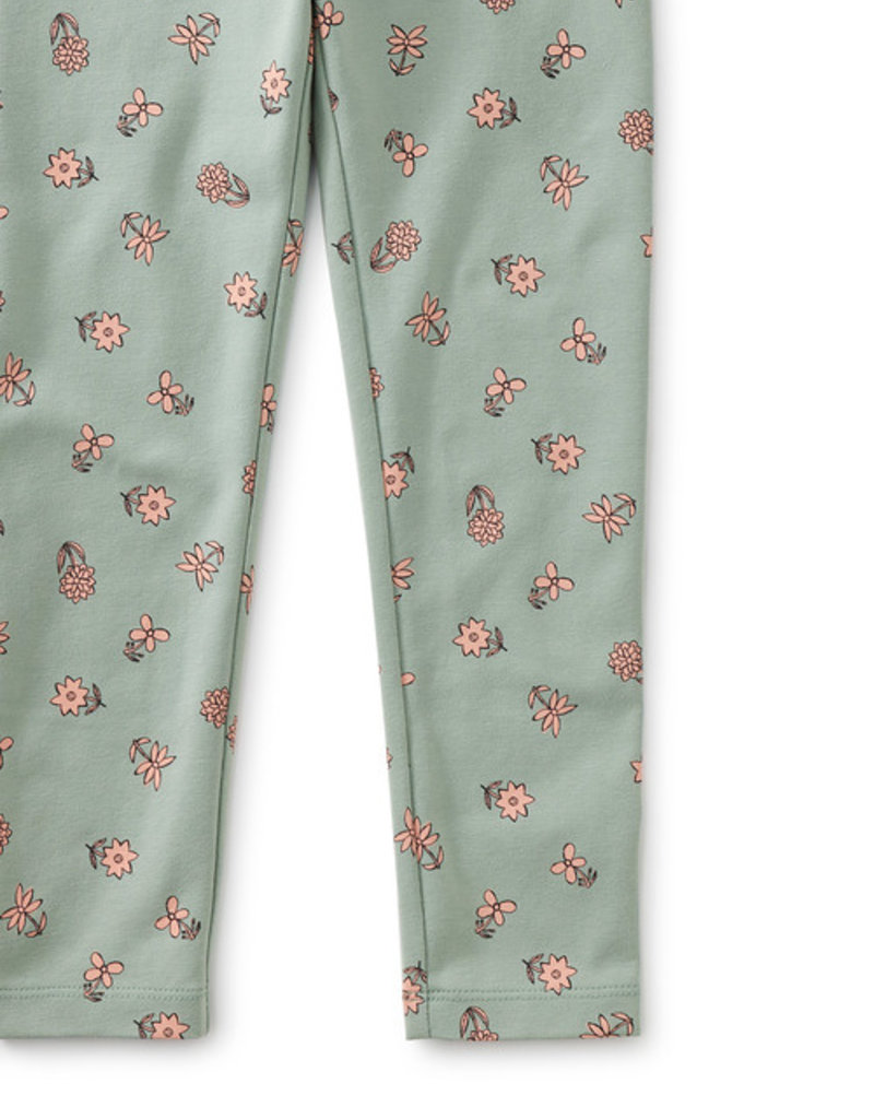 Tea Collection Printed Leggings Starry Night Green