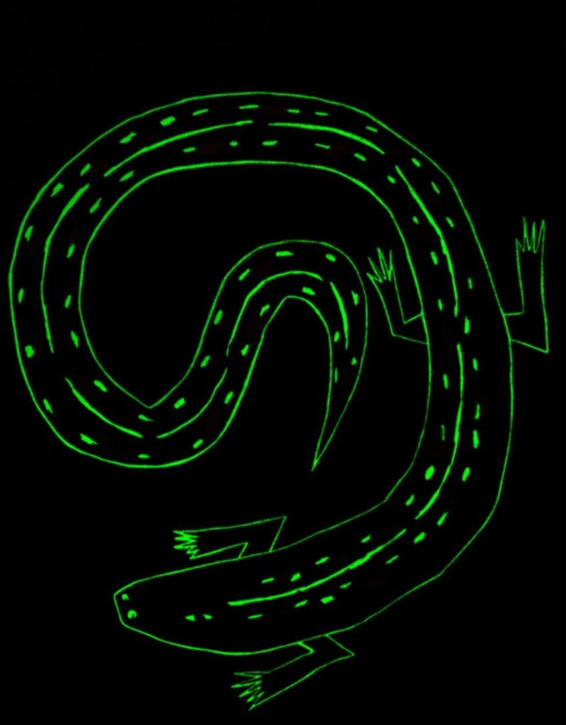 Tea Collection River Lizard Glow Graphic Tee